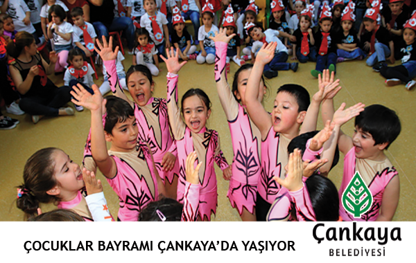 Çocuklar Bayramı Çankaya'da Yaşıyor