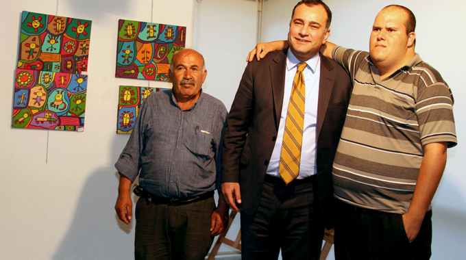 Umudun Renkleri Muhammed Yalçın'la ÇSM'ye Taşındı