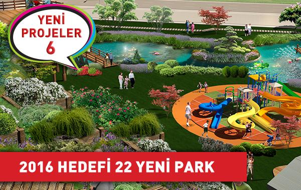 Yeşil Çankaya İçin 2016 Hedefi 22 Yeni Park