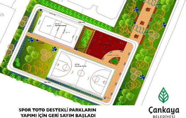 Spor Toto Destekli Parkların Yapımı İçin Geri Sayım Başladı
