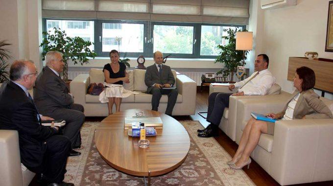 Makedon Büyükelçiden Ziyaret