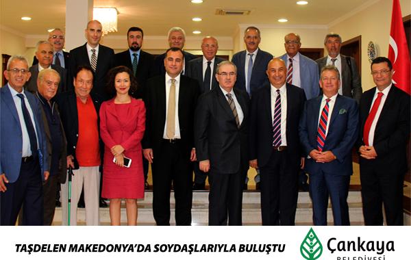 Taşdelen Makedonya'da Soydaşlarıyla Buluştu