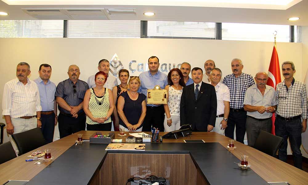Erdal Eren'in Arkadaşlarından Taşdelen'e Teşekkür