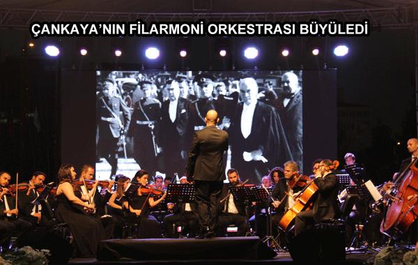 Çankaya'nın Filarmoni Orkestrası Büyüledi