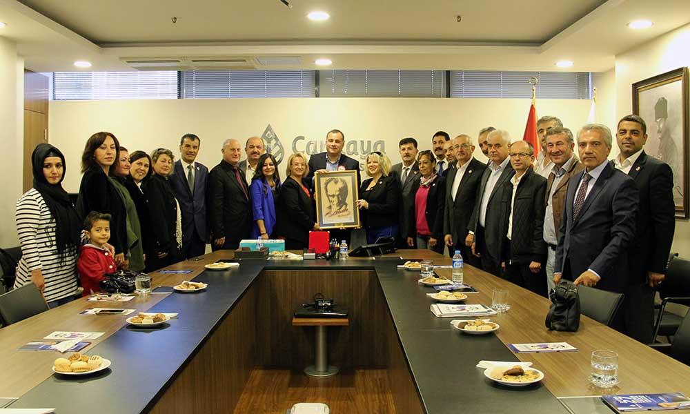 Taşdelen, Türkiye Muhtarlar Konfederasyonunu Konuk Etti