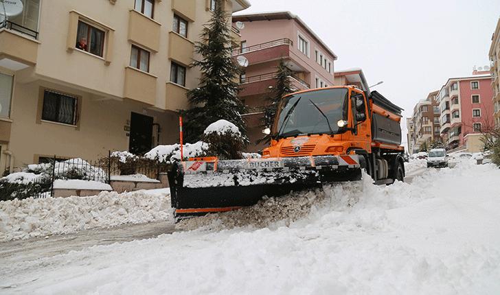 Çankaya Belediyesinin Karla Mücadele Hakkında Basın Açıklaması