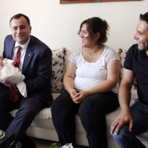 """Çankaya, 2016'da 603 Bebeğe """"Hoş Geldin"""" Dedi"""