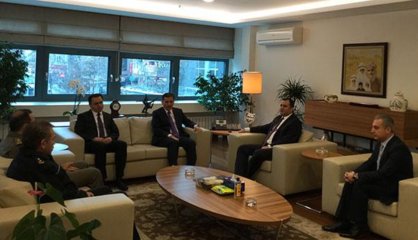 Ankara Valisi Ercan Topaca Taşdelen'i Ziyaret Etti
