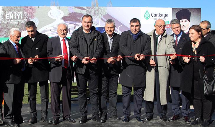 Çankaya'dan Vefa Örneği: Aziz Sancar Parkı Açıldı