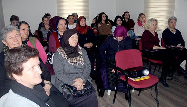 Kadınlar Sağlık Eğitiminde Buluştu