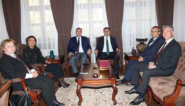 Taşdelen'den Çankaya Kaymakamı Çakır'a Ziyaret