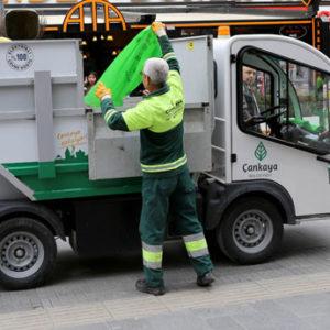 Çankaya'dan 518 Bin Ton Çöp Toplandı