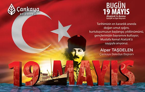 Taşdelen'den 19 Mayıs Atatürk'ü Anma Gençlik Ve Spor Bayramı Mesajı