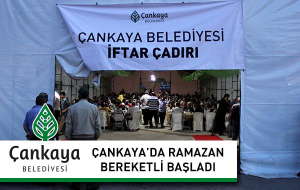 Çankaya'da Ramazan Bereketli Başladı
