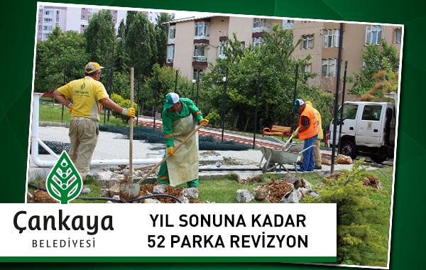 Yıl Sonuna Kadar 52 Parka Revizyon