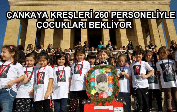 Çankaya Kreşleri 260 Personeliyle Çocukları Bekliyor