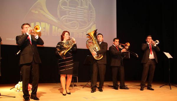 Golden Horn Brass Ankaralılarla İlk Kez Buluştu